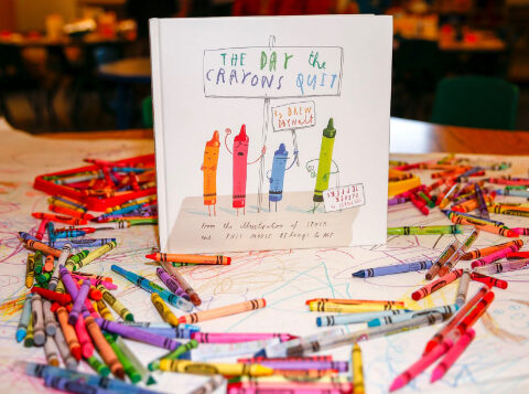 Crayon Collection - The Day the Crayons Quit